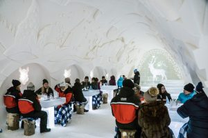 Kemi Tourism Ltd. Dinner by the ice tables