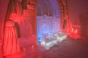 Kemi Tourism Ltd. Ice throne
