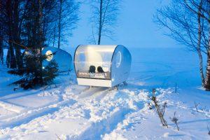 Kemi Tourism Ltd. Olokolo accommodation in the Arctic Adventure island