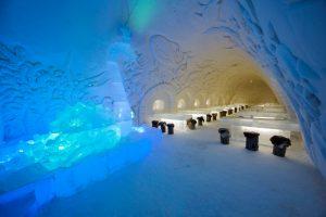 Kemi Tourism Ltd. Sea World Cabinet in SnowCastle