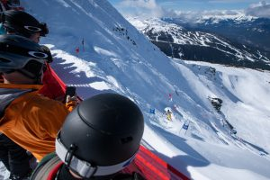 saudan Couloir Ski Race Extreme - John Hromyk